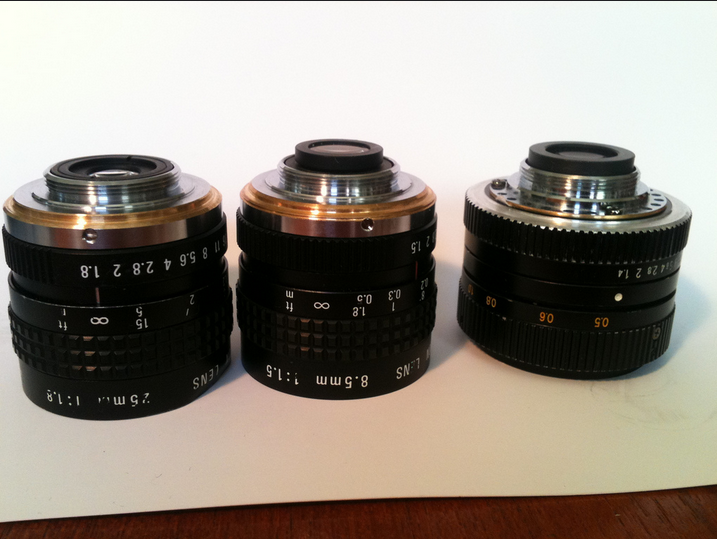 2015-06-12 02-38-15 C mount lenses from the Pawn shop. These were the first le… Flickr - Photo Sharing! - Waterfox